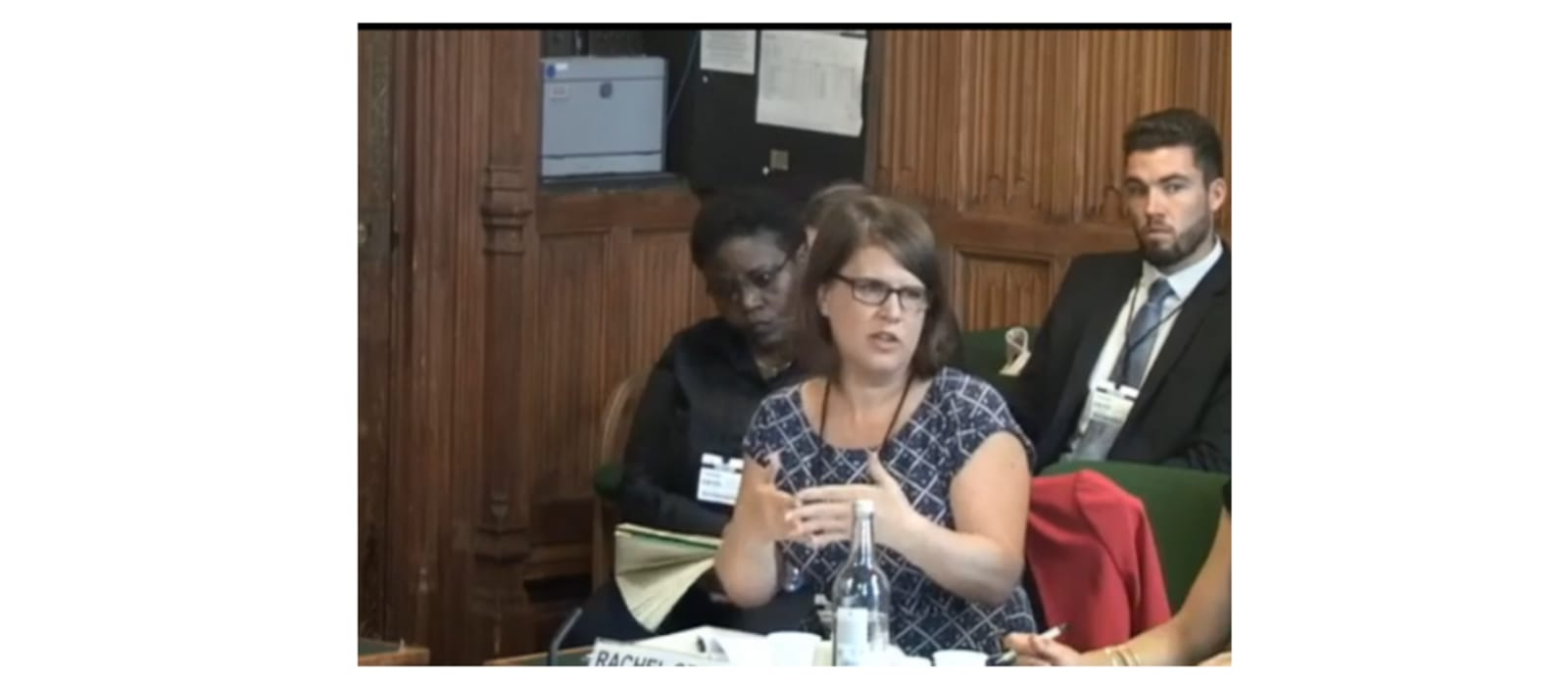 Rachel Griffin gives evidence at Home Affairs Select Committee