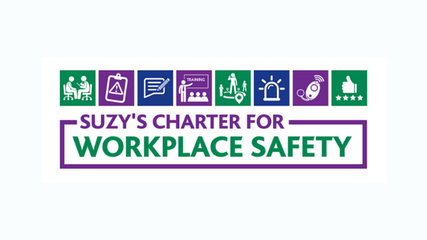 National Personal Safety Day 2019 - Launch of Suzy's Charter for Workplace Safety
